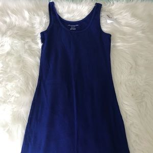 A pea in the pod royal blue maternity tank